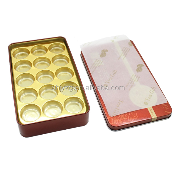 wholesale decorative gift nesting boxes/tea packaging tin box