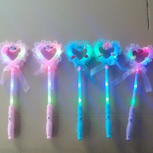 Factory Direct Sale Custom Logo LED light Stick Hallween Fairy Light Sticks /Party Stick With Light
