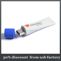 slim 8GB pvc usb flash stick