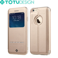 TOTU Best Selling Flip Phone Cover Luxury PU Leather Phone Cases for iphone 6