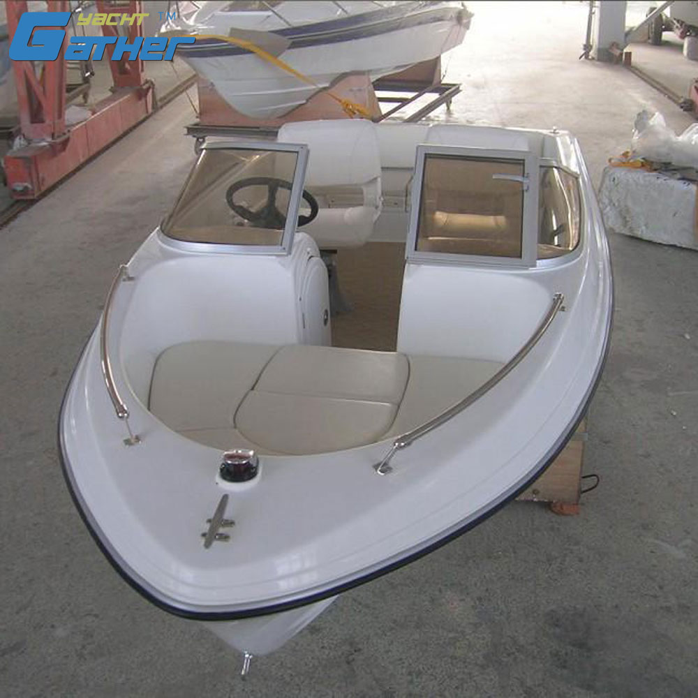 Gather Yacht hot sale 4.8m fiberglass bowrider boat