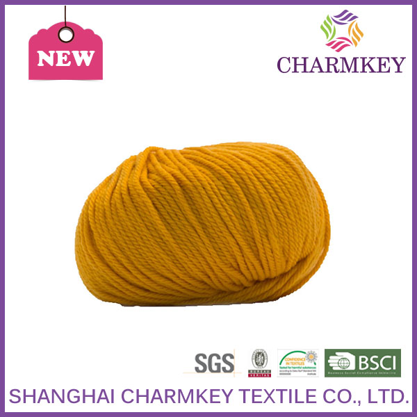popular in American market wool yarn wholesale for hand knitting sequin yarn