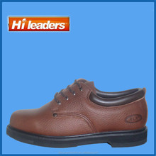 2015 New design Good year Welt Genuine Leather Work Shoes with Steel Toe