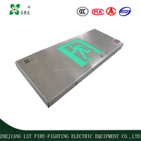 2LRE-118 high quality stainless steel emergency exit signs