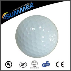 Good price and high quality custom printed logo golf ball