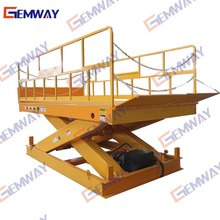 1ton portable scissor lifter for goods