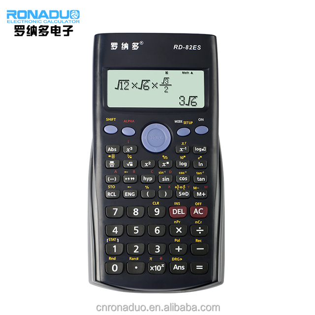 82ES fraction calculations table function list-based STAT data editor calculator