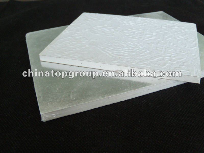 Gypsum board tiles, PVC gypsum ceiling tiles