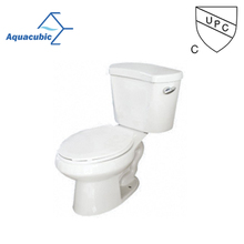 Sanitary ware two-piece bathroom floor mounted ceramic wc toilet