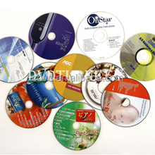 China 15 years CD DVD disc replication and printing factory