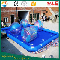100% waterproof polyester PVC swimming pool