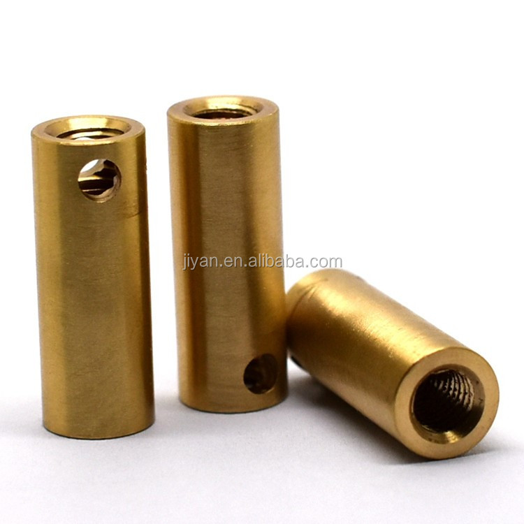 High end good quality cnc lathing milling copper pipe sleeve