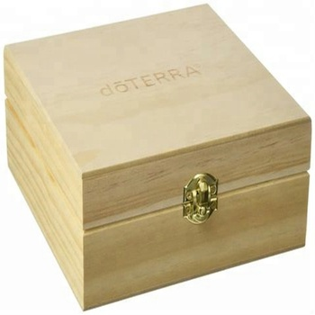Luxury Pine essential oil wooden storage box