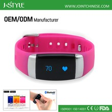 J-Style smart activity tracker with ECG and Heart Rate monitor