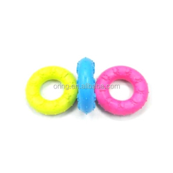 Pet Silicone Dog Rubber Ring Dog Toy