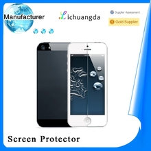 2013 New Arrive Ultra Thin 0.2mm Tempered Glass Screen Protector Film For iPhone 5S