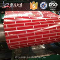 Red Brick Color Coated Steel Sheet from China