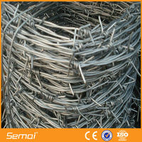 SEMAI Barbed Wire Mesh/Unit Weight Of Barbed Wire