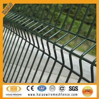 Cost effective certificated CE clear panel fence panels