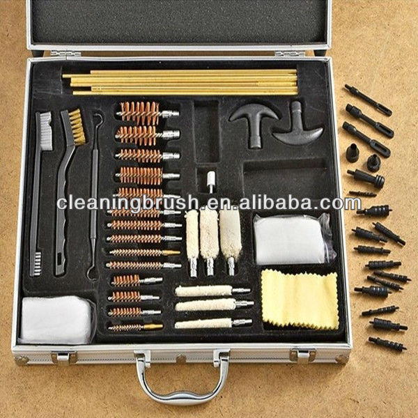 different size gun cleaning brush kits