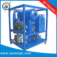 Two stage ultra vacuum portable cleaning transformer oil machine