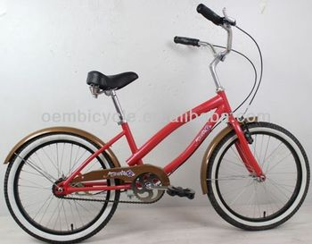 20inch colorful children beach cruiser style bike/ kids bikes