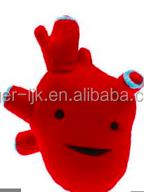 ICTI Create Your Own CE EN71 Plush Toy Fashion Custom Plush Heart Stuffed toy