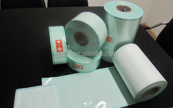 Medical Consumables Self Sealing Sterile Paper Pouch Roll