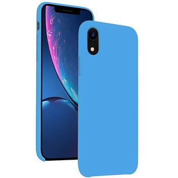 Best price for apple for iphone x xs xr max liquid silicone case 1-1 50 colors available soft touch exw