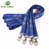 Custom polyester printing flexible stretch strap rope elastic lanyard