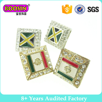 Fashion Jewelry national flag daily wear earrings for youth