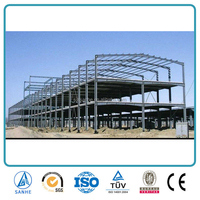 Light Steel Structre Frame Building Galvanization