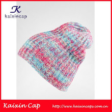 wholesale custom made long crochet high quality blank winter beanie hat crochet kufi hats wholesale