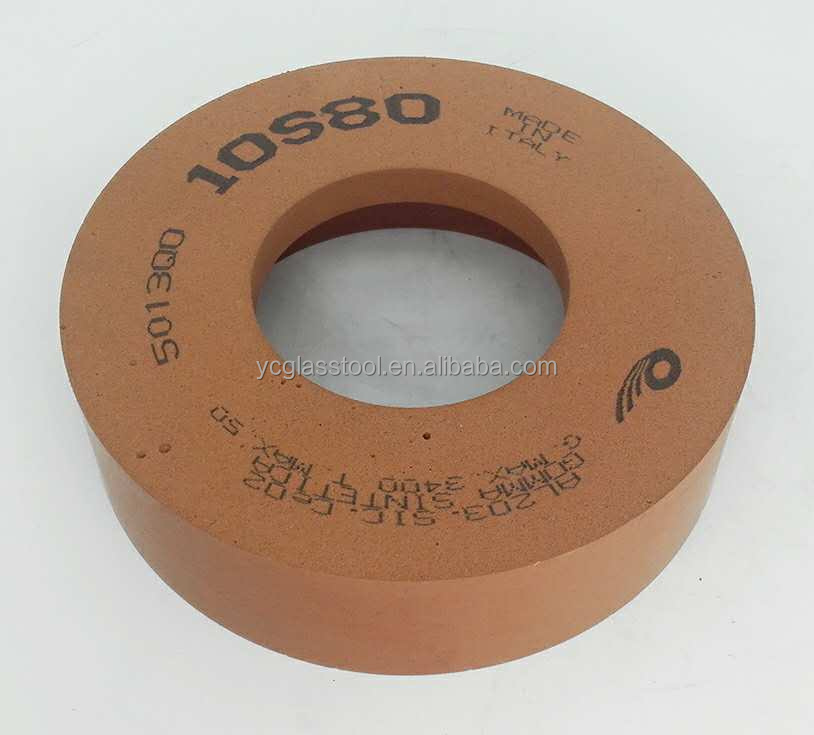 10S Polishing Vitrified Diamond Abrasive Wheels for Glass Edge Polishing/Abrasive diamond grinding wheel glass polishing