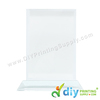 Crystal Frame (T-Screen Erect) (9cm X 13cm) for Gift Printing Biz