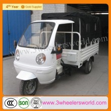 200cc Motor Tricycle /3 wheel motorcycle/three wheeler with cabin cargo box cover