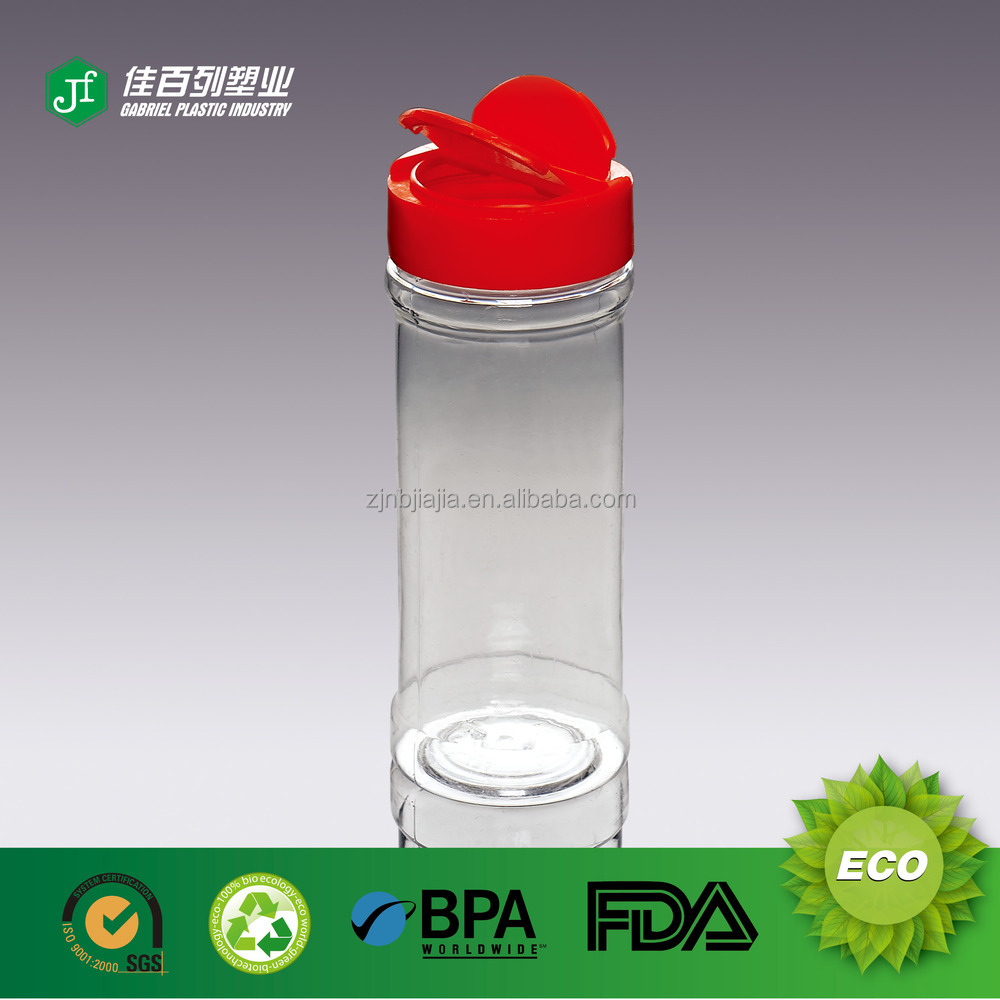 Q-<strong>03</strong> Hot Sale in Zhejiang 9 OZ spice bottle with red fliper cap