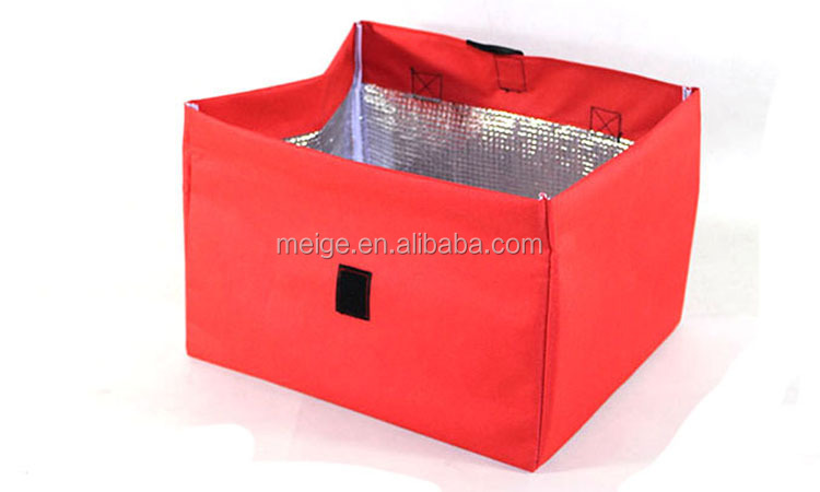 Custom Big Capacity Polyester Insulated Cooler Bag