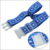 Personalized travel luggage straps with transparent buckle