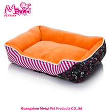 Chinse paw shape colorful pet kennels dog beds for dogs