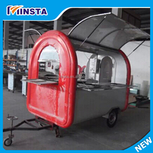 Military fast food mobile kitchen trailer for sale, towable food trailer, camping mobile kitchen trailer during