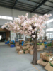 fake silk cherry blossom trees and fabric artificial cherry blossom tree for wedding decor