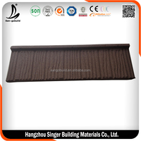 Red color steel roof tiles, hot sale discount roof tile