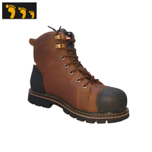 good manufactory steel toe winter safety boots