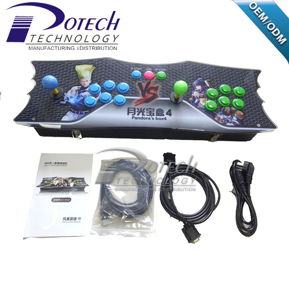 HDMI Play station 4 arcade 645 game console for kids Christmas gift