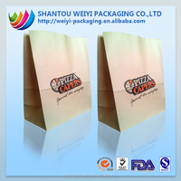 label printing paper take away fast food packaging for restaurant