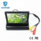 "4.3"" inch foldable TFT LCD Car Monitor 16:9 for Rear View Car Security camera system"