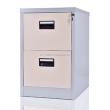 2 drawers vertical steel cabinet