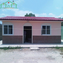 Factory direct sale environmental small design house prefabricated beach villa