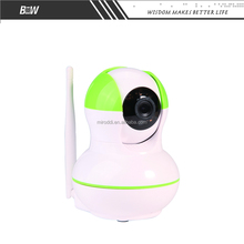 H.264 COMS day and night vision wireless indoor ip camera two way communication baby monitoring system